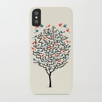 line iPhone & iPod Cases featuring Out On a Lark by Oliver Lake