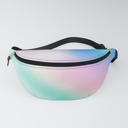 Rainbow Pastel Clouds Fanny Pack