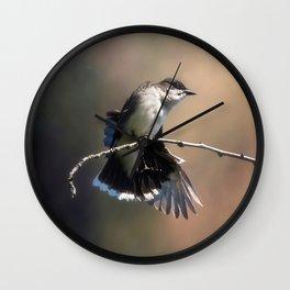 Eastern King Bird Wall Clock
