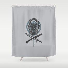 Dead Men Walking Shower Curtain