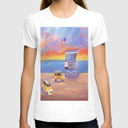 Redondo Beach Lifeguard Tower T-shirt