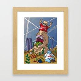 Arcidiacono Dario for Mad Max Fury Draw Framed Art Print