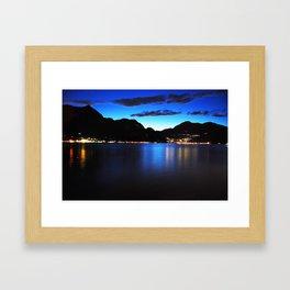 The Lake of Como Framed Art Print