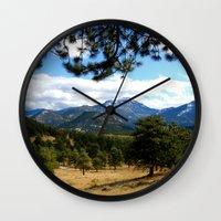 colorado Wall Clocks featuring Colorado  by Shelby Babbert Photography