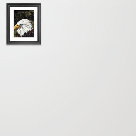 Eagle! Framed Art Print