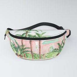 Pink Hotel Fanny Pack