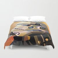 sand Duvet Covers featuring Sand by Liam Brazier