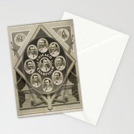 Chicago White Stockings Baseball Champions 1876-77 Stationery Cards
