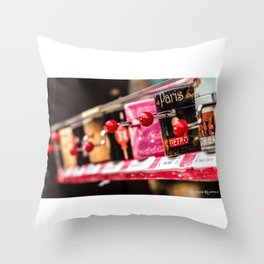 Musical boxes Throw Pillow