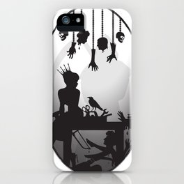 You're One Of Them, Aren't You? Dark Romance Valentine iPhone Case