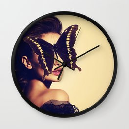 Fly with me Wall Clock