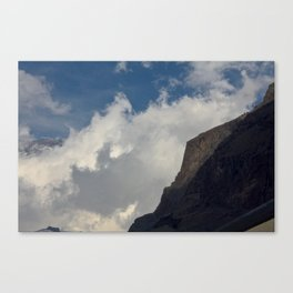 Rock Clouds Sky Canvas Print