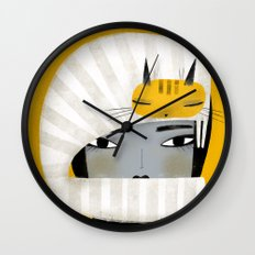 HAT SCARF COMBO Wall Clock
