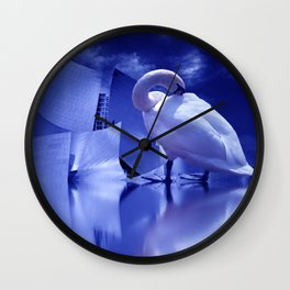 lost in the night of the city Wall Clock