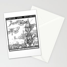 Songs of Elsewhere (Cover Detail for TVR Promo) Stationery Cards