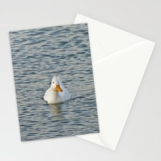 Duck Alone Stationery Cards