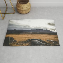 A Church of Iceland.    Mountain Shots.    Rocks and Adventure.    MadaraTravels Rug