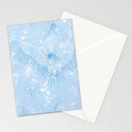 A Mild Breeze (Sky Blue) Stationery Cards