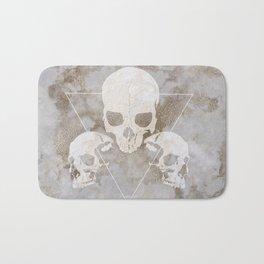 Marble Skulls Bath Mat