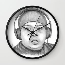 Dashiexp Portrait Wall Clock