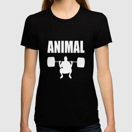 Animal gym quote T-shirt