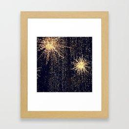 Urban Stars Framed Art Print