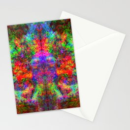 Kamana II (abstract, psychedelic, visionary) Stationery Cards