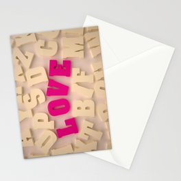 Love #1 Stationery Cards