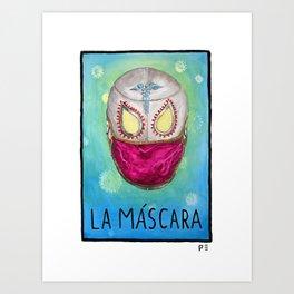 La Máscara | The Mask Art Print