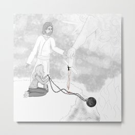 The Gospel Metal Print