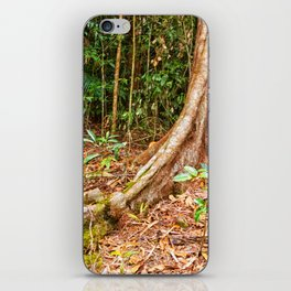 A firm grip on mother earth iPhone Skin