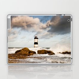 Penmon Head Lighthouse Laptop & iPad Skin
