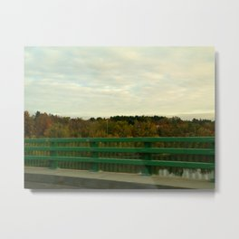 Just another fall drive. Metal Print