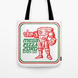 MEGA PIZZA ZORD SUPREME 2000 Tote Bag