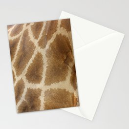 skin of a giraffe Stationery Cards