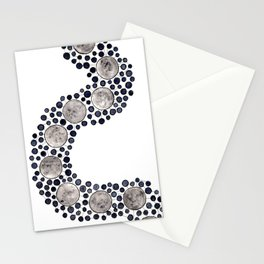 Moon Path Stationery Cards