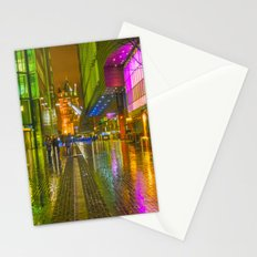 Rain And Tower Bridge London Stationery Cards