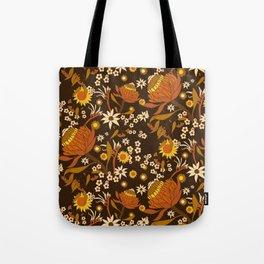 Australian Natives Wattle Gold Tote Bag