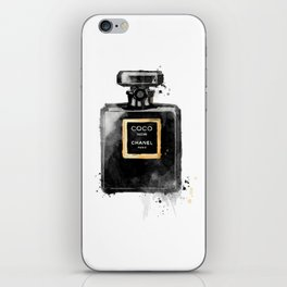 Perfume bottle fashion iPhone Skin
