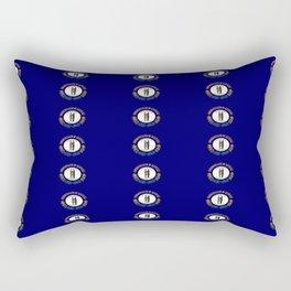 flag of kentucky 2-flag of kentucky,kentucky,america,us,Bluegrass State,Kentuckian Rectangular Pillow