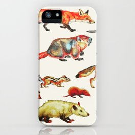 Critters iPhone Case