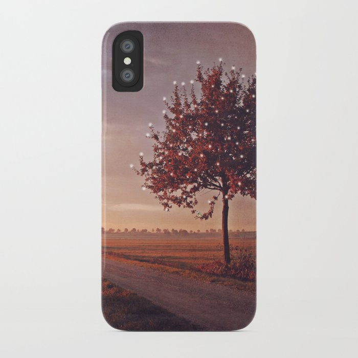 SONG OF THE OCTOBER BIRD iPhone Case
