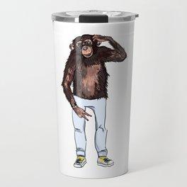 monkey dude Travel Mug