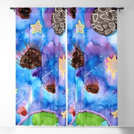 Asteroid Day Blackout Curtain