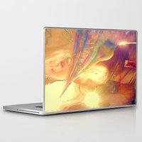 boobs Laptop & iPad Skins featuring NUDE BLOND BIG BOOBS LADYKASHMIR HAPPY VALENTINES DAY by ladykashmir goddess