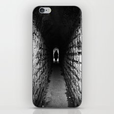 The Silhouette at the End of the Tunnel iPhone & iPod Skin