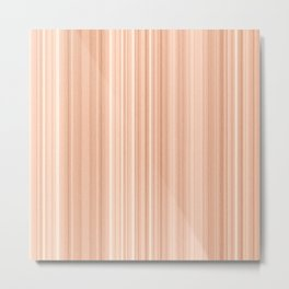 Cedar Wood Texture Metal Print