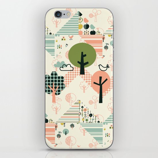 Apple Orchard Zig Zag iPhone & iPod Skin