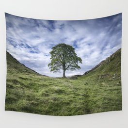 Return to Sycamore Gap Wall Tapestry