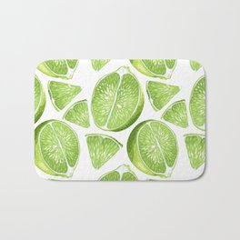 Juicy Lime with vitamin C Bath Mat